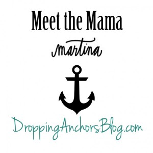 Dropping Anchors Blog: Martina