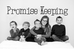 Dropping Anchors Blog: Promise Keeping