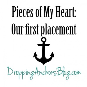 Dropping Anchors Blog: Pieces of My Heart
