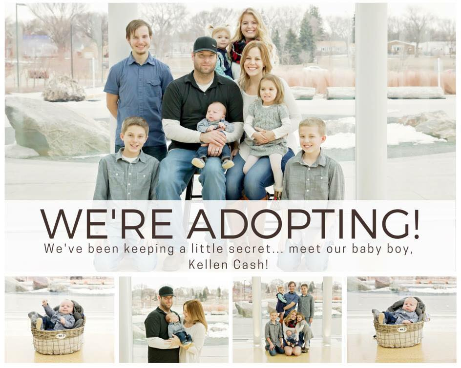 adoption announcements dropping anchors